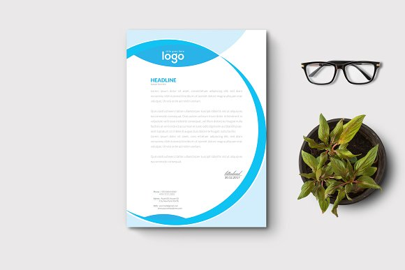 Letter Head in Stationery Templates - product preview 1