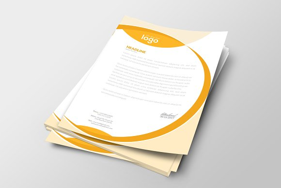 Letter Head in Stationery Templates - product preview 2