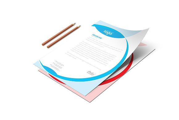 Letter Head in Stationery Templates - product preview 3