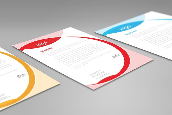 Letter Head in Stationery Templates - product preview 4