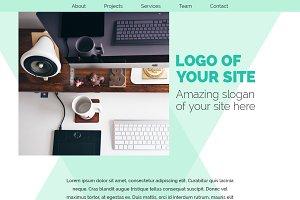 Portfolio / Agency psd site template