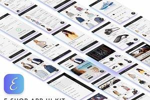 E Shop eCommerce UI Kit