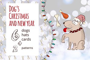 Dog's Christmas and New Year