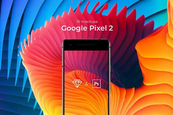 Download 10 Google Pixel 2 mockups