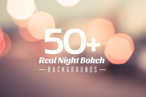 50+ Real Night Bokeh Backgrounds