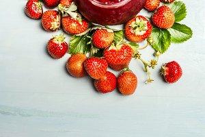 Strawberries preserve