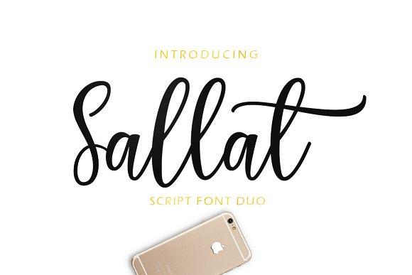 Sallat Font Duo