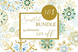 Snowflakes Bundle SALE