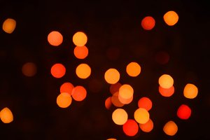 Abstract festive bokeh background