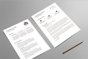 Resume/CV & Cover Letter Set