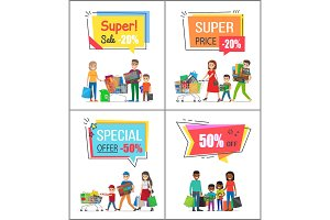 Super Sale with Special Offer for Big Purchases