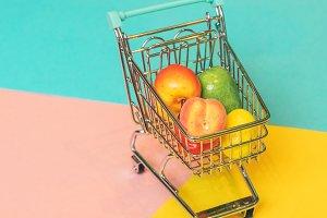 Self-service supermarket