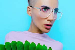 Fashion glasses. Trends eyewear
