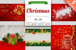 Christmas Cards and Backgrounds