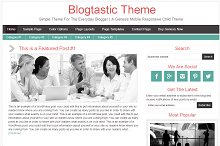 Blogtastic Theme - Simple Theme For