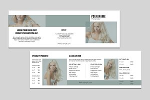 Trifold Photography Brochure-V771