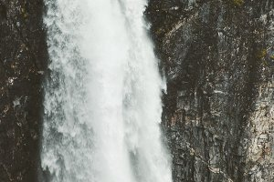 Landscape Waterfall Vettisfossen