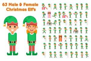 Boy And Girl Elf