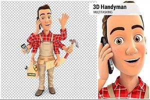 3D Handyman Multitasking
