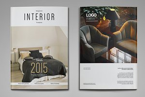 A4 & US Letter Interior Magazine