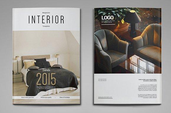 a4 us letter interior magazine - Magazines For Interior Design