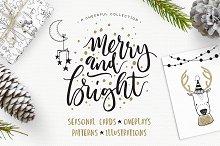 Merry & Bright Christmas design kit