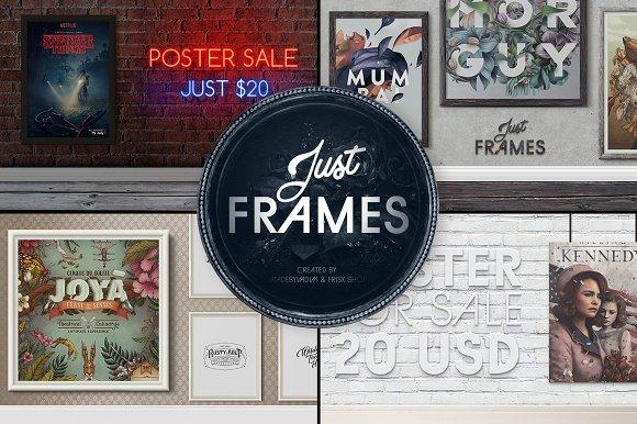 Just Frames - Frames Mockup-Graphicriver中文最全的素材分享平台