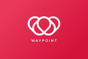 Way Point Logo Template