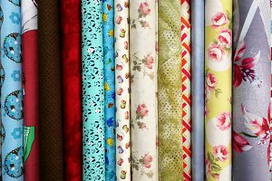 Fabrics for parchwork