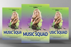 Music Squad Flyer