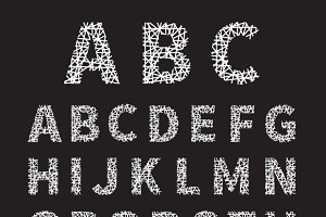 Crossed Font