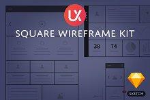 Square Wireframe Kit
