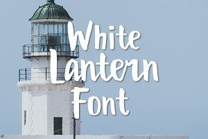 White Lantern Font