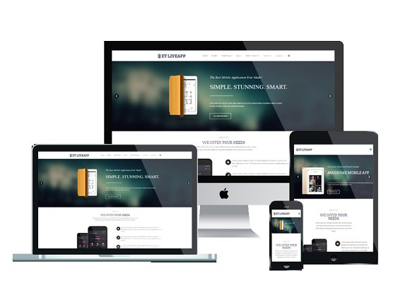 ET LiveApp App Showcase WordPress