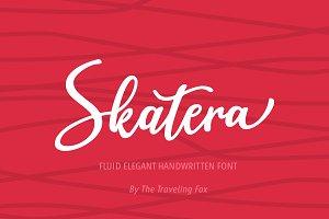Skatera Handwritten Skate Font