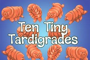 Tiny Tardigrade Illustration Pack