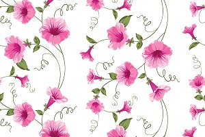 Design of vintage floral card.