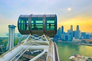 Skyline of Singapore, Singapore Flye