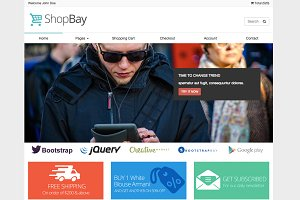 Shopbay - Online Shop Template