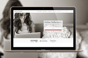 Influencer  WordPress Genesis theme