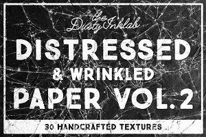 Distressed & Wrinkled Paper Vol. 2