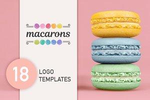 Macarons Logo set