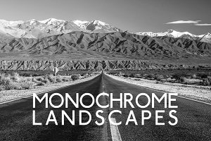 Monochrome and B&W Landscape Presets