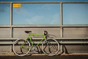 Green Vintage Bicycle 2
