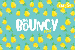 The Bouncy Font