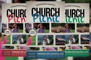 Church Picnic Flyer