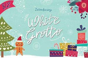 White Grotto Font