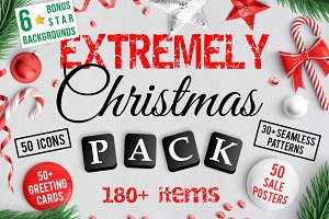 180+ Extremely Christmas Pack