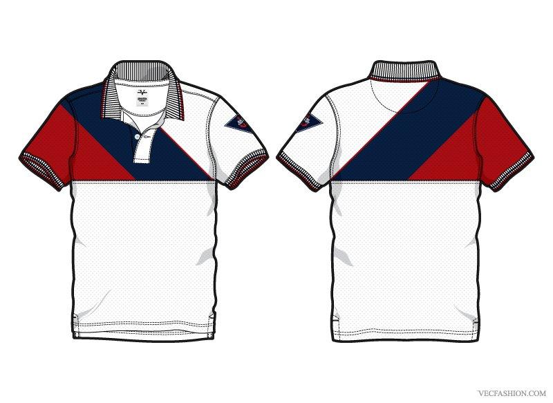 Men white sport polo shirt illustrations creative market for Polo t shirt design online