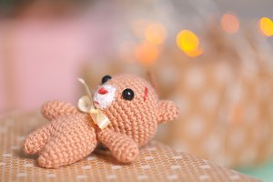 Small soft christmas toy
